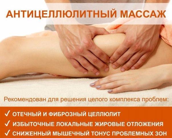 Антицеллюлитный массаж статьи